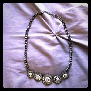 Grey and Blush necklace